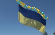 Ukrainian Flag Flew Over Occupied Donetsk