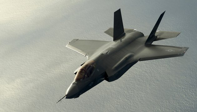 An F-35 Lightning II, from the 461th Flight Test Squadron, Edwards Air Force Base, Calif., receives fuel from a Boeing KC-135 Stratotanker, from the 151st Air Fueling Wing, Utah Air National Guard, Feb. 22, 2012. The 151st Air Refueling Wing routinely supports air operations across the western United States.