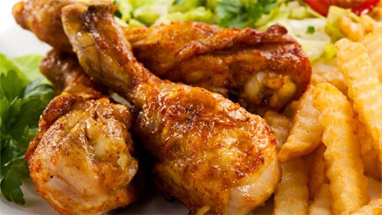 أفخاذ دجاج معطرة في جيجيكا مع البطاطا