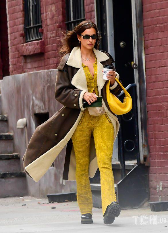 إيرينا شيخ تجذب المشاهيرفي اللون الاصفر