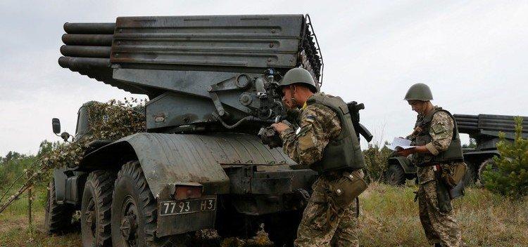 اتهاكات لوقف اطلاق النار في دونباس