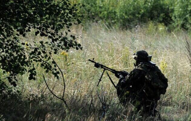 اطلاق النار في دونباس