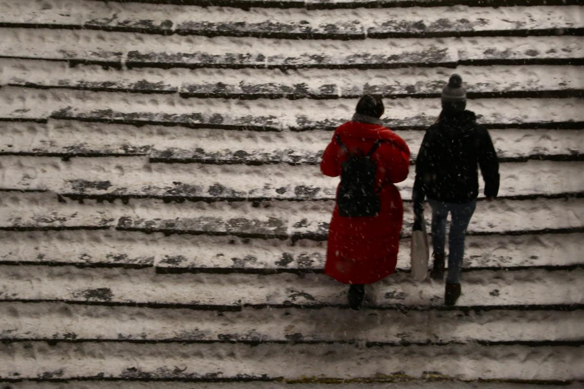 الطقس في كييف بارد قارص بلا هطول