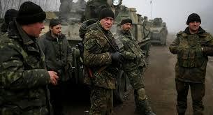 القوات الروسية تنتهك وقف اطلاق النار في دونباس
