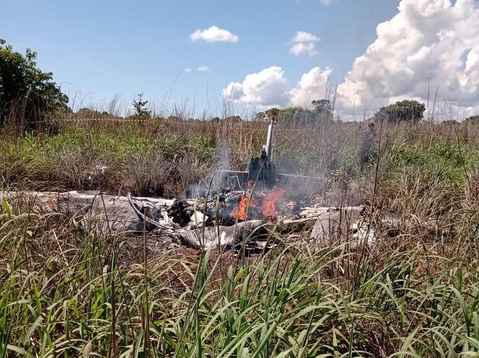 تحطم طائرة فريق بالماس البرازيلي لكرة القدم