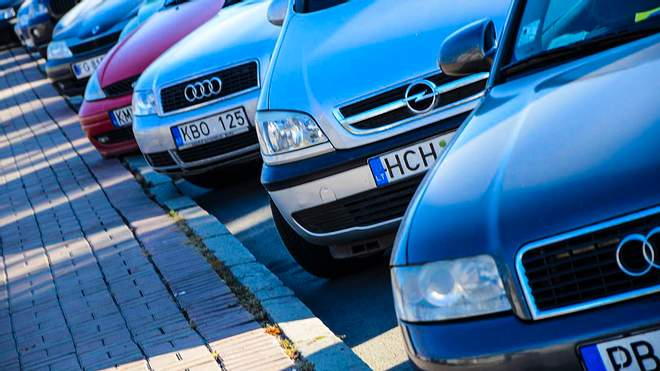 تنامي ظاهرة تهريب السيارات الاوروبية الى اوكرانيا