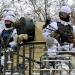 دونباس تحت القصف بقذائف هاون عيار 120 ملم وقاذفات قنابل يدوية
