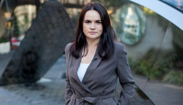 زعيمة المعارضة سفيتلانا تيخانوفسكايا