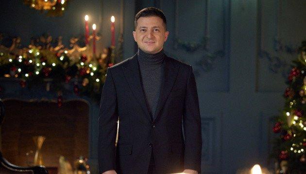 زيلينسكي يهنئ الاوكرانيين بعيد الميلاد