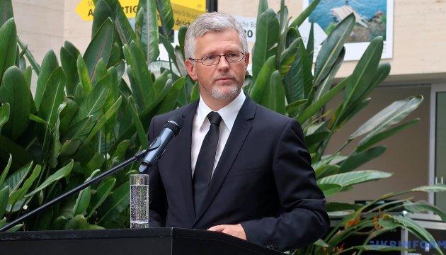 سفير أوكرانيا في ألمانيا Andriy Melnyk