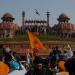 في الهند،مزارعون غاضبون يستولون على القلعة الحمراء