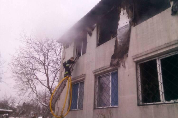 15 قتيل جراء اندلاع حريق في دار للمسنين في خاركيف