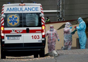 اصابات فيروس كورونا في اوكرانيا