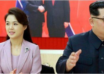الرئيس الكوري وزوجته