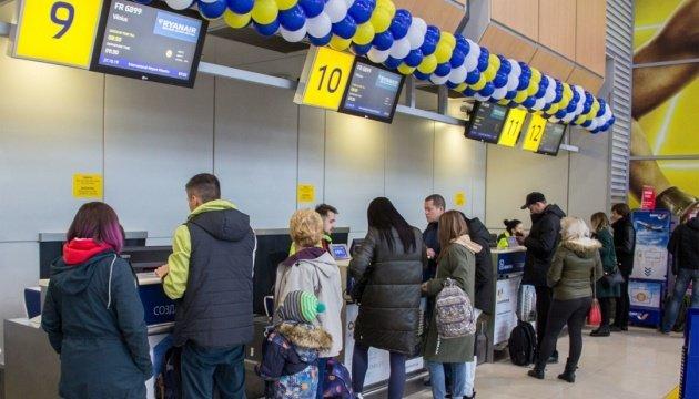 انخفاض حركة الركاب في مطار اوديسا بنسبة 58 % خلال 2020