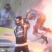 انفجار سيارة أثناء سباق الفورمولا 1