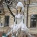 تحطم تمثال راقصة الباليه الشهير في كييف