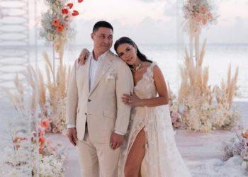 حفل زفاف مقدمة البرامج التلفزيونية إيفانا أونوفريتشوك