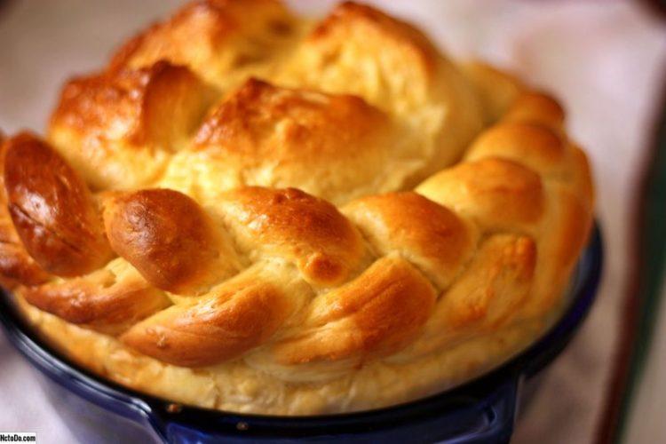 خبز البريوش الاوكراني