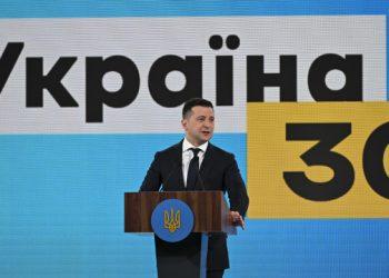 زيلينسكي يعلن مشاركته في منتدى أوكرانيا 30 البنية التحتية