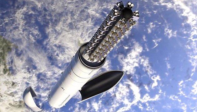 سبيس اكس تطلق 60 قمر صناعي من ستارلينك