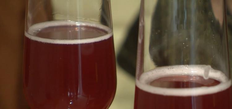شراب الكمبوتشا المشهور في اوكرانيا