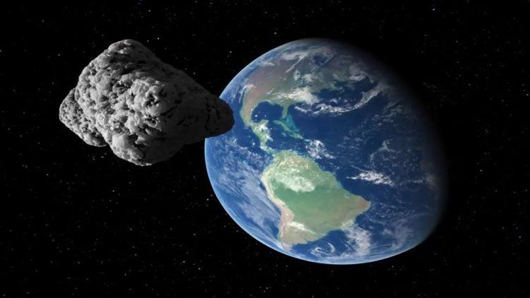 """كويكب """"2021 CO"""" يقترب من الارض"""