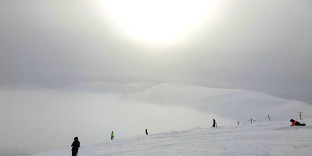 لهواة التزلج لا تنتظروا وسارعوا الى منطقة الكاربات