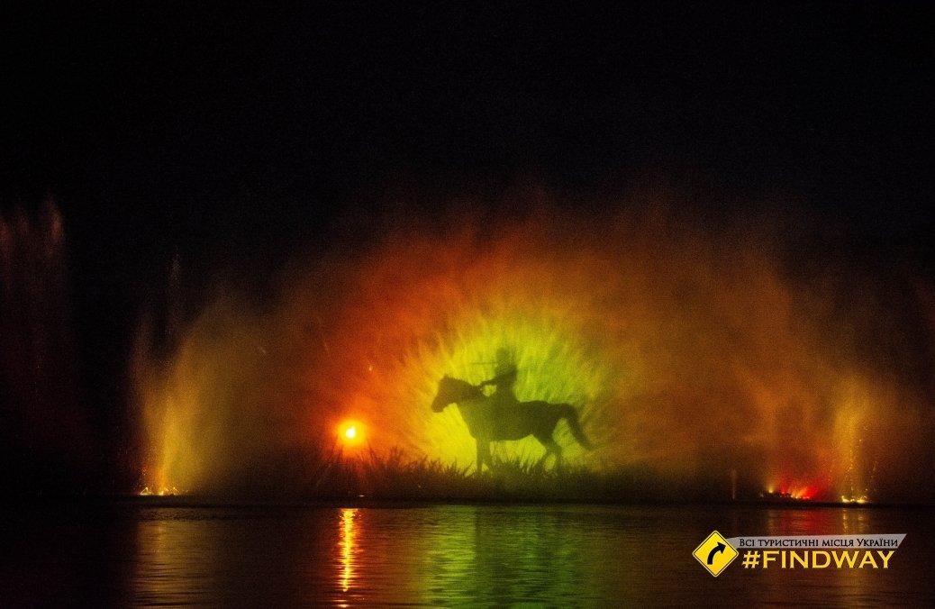 نافورة فينيتسا روشن رسالة فنية أوكرانية للعالم