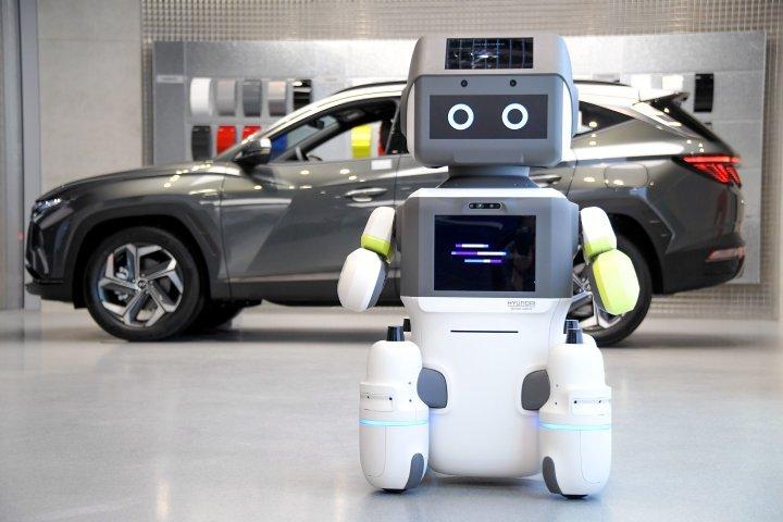 هونداي تقدم روبوت لخدمة العملاء