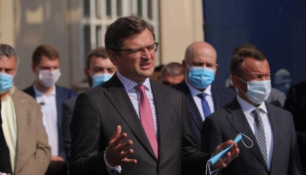 وزير الخارجية الاوكراني نورد ستريم 2 القضية الوحيدة التي نختلف مع المانيا بشأنها