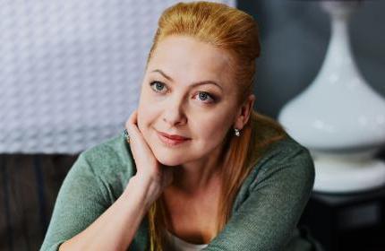 إينا ميروشنيشنكو. .الممثلة الأوكرانية الجريئة