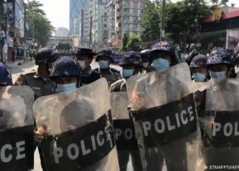 استئناف الاحتجاجات في ميانمار