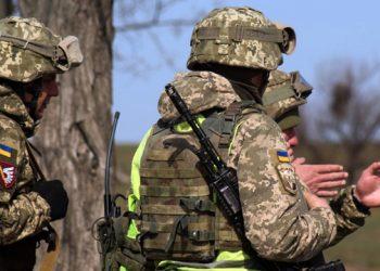 استمرار انتهاك وقف اطلاق النار في دونباس