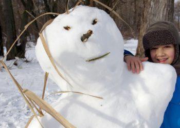 الثلج والمطر يعودان الى اوكرانيا من جديد