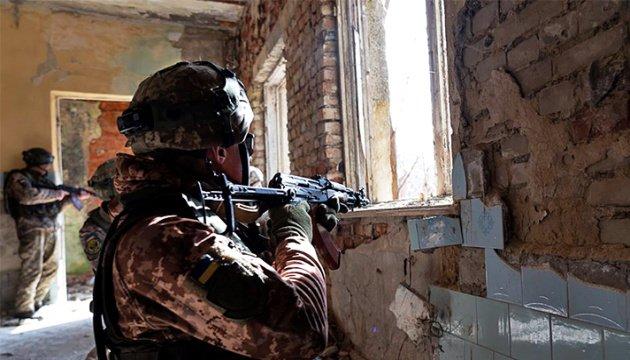 انتهاك وقف اطلاق النار في دونباس تسع مرات