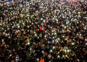 تايلاند،انقسامات بين المحتجين تسفر عن اصابة العشرات