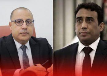 رئيس الحكومة هشام المشيشي يهاتف رئيس المجلس الرئاسي الليبي