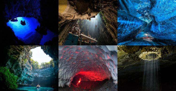 صور لأجمل الكهوف من جميع أنحاء العالم