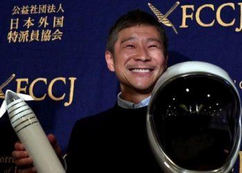 يوساكو مايزاوا يبحث عن مرافقين لرحلته الى القمر