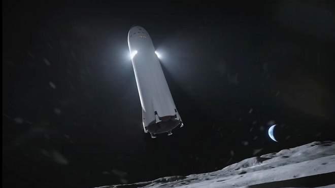 إيلون ماسك يجدد ثقته بقدرة سبيس إكس بنقل البشر إلى سطح القمر بحلول عام 2024