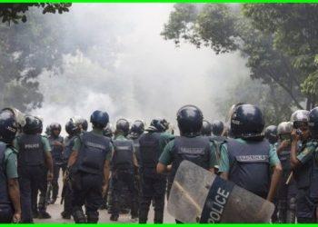 اشتباكات ما بين القوات الامنية والمتظاهرين في بنغلاديش وانباء عن وقوع قتلى