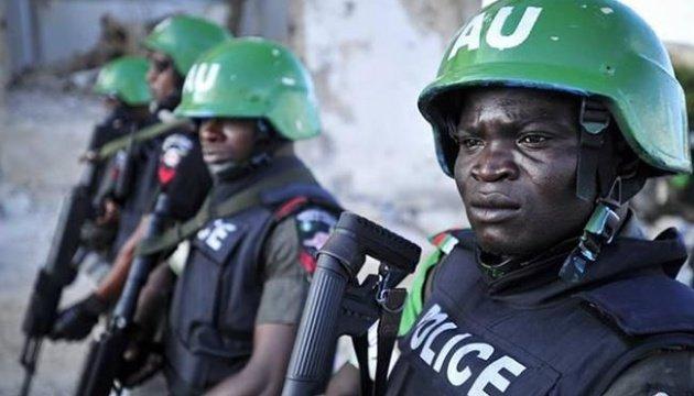 القوات الامنية النيجرية