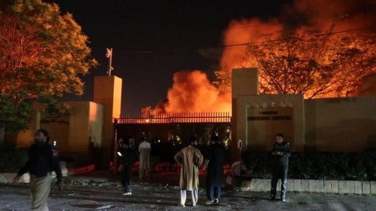 انفجار مميت في فندق فاخر في الباكستان