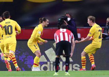 برشلونة يفوز بكأس الملك 2021