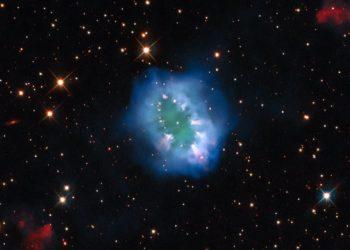 تلسكوب هابل يواصل إنجازاته و يلتقط صورة مذهلة لسديم كوكبي