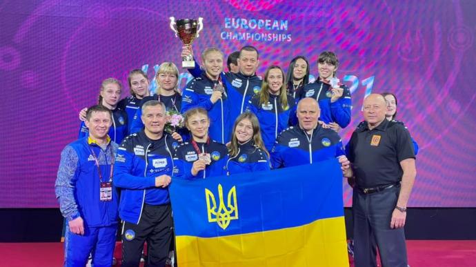 ست ميداليات اوكرانية في بطولة المصارعة الأوروبية في وارسو