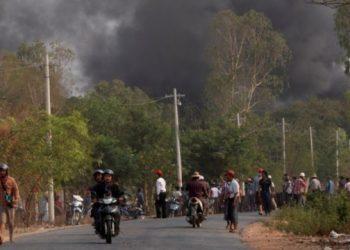 مركز للشرطة في ميانمار يتعرض لهجوم يسفر عن مقتل 10 ضباط شرطة