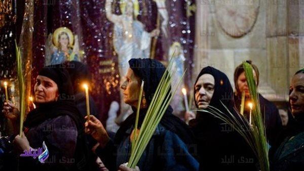 مسيحيو الشرق يحتفلون بأحد الشعانين