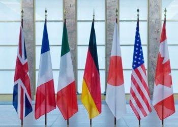 دول السبع تؤكد دعمها لاوكرانيا